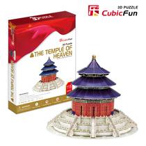 正版乐立方 3D立体拼图 3D纸模型 精装版 中国北京天坛 MC072h 价格:46.00