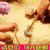 欧美小饰品批发 2013最新款复古创意 混搭海盗珍珠胸针 吉他胸针 价格:4.00