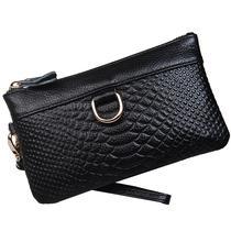 2013新款钱包女长款真皮女包牛皮手包女小包包欧美时尚女士手抓包 价格:30.00
