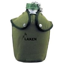 代购!LAKEN 150 AFRICA探险家户外铝水壶(旋盖式)附草绿保护套 价格:468.75
