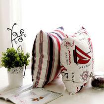 新品 沙发靠垫靠垫套/抱枕/抱枕套/靠枕 纯绵天使雅儿 扬帆远航 价格:18.00