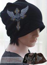 韩版秋冬天帽子男加绒保暖骷髅头套头帽男包头帽潮帽头巾街头酷黑 价格:28.00