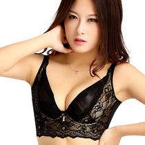 萌猫调整型文胸收副乳 深V磁疗聚拢胸罩 蕾丝性感女士内衣防下垂 价格:69.00
