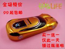 2013新款迷你跑车手机宝马双卡双待汽车超小手机直板特价包邮Z8F1 价格:99.00