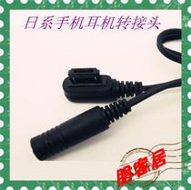 �朋客居� 原装夏普 W41SH W51SH W52SH W61SH W62SH 耳机转换线 价格:3.00