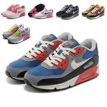 耐克男鞋跑鞋air max 90气垫内增高跑步鞋运动鞋女鞋休闲板鞋高帮 价格:169.20