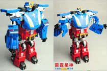 正版星杰百变机兽玩具2代之元气星魂玩具 6.5寸 二合一体雷霆 价格:62.50