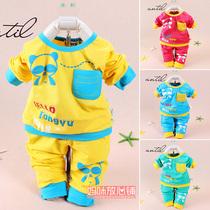 2013新款潮宝宝童装男童女童儿童运动套装婴儿衣服秋装0-1-2-3岁 价格:29.90