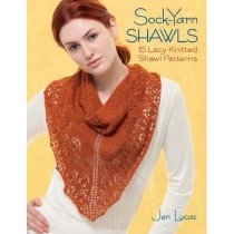 Sock-yarn Shawls: 15 Lacy Knitted Shawl Patterns Jen Lucas 价格:205.00