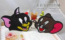 【安安家的布贴】汤姆和杰瑞猫和老鼠衣服贴补丁贴 价格:3.99