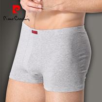 天猫正品 皮尔卡丹男士莱卡棉平角内裤P53706 吸湿排汗 舒适透气 价格:45.00