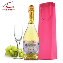 亨酒网 花之恋意大利甜白起泡葡萄酒香槟酒 顺丰包邮 价格:128.00