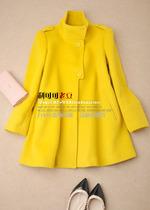 JSDM341 奢侈精品~高端立体剪裁 纯正色彩大气羊绒大衣 价格:1550.00