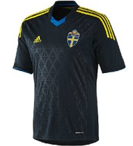 Top thai,Sweden 2013/14 away blue jerseys 10#Ibrahimovic 价格:68.00