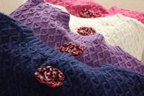 优雅气质小香~厚实粗针新款秋冬女士羊毛羊绒套头针织衫毛衣 价格:288.00