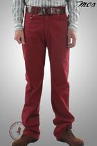 万宝路服装 MCS 牛仔裤 直筒裤 红色 休闲 长裤 价格:499.00