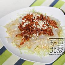 东北特产 东北大拉皮 东北粉皮 纯土豆粉皮 火锅粉 干品150g特价 价格:3.50