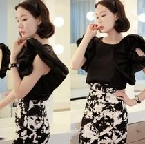 预订。chic-diva韩国代购正品-pinko蝴蝶袖衬衫。 价格:335.00