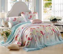 梦兰家纺 专柜正品 100%双面天丝四件套 送枕芯一对 价格:700.00