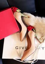 2013新款 华伦天奴玫瑰花朵婚鞋真皮尖头高跟细跟女单鞋特价包邮 价格:196.00