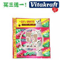 【仁可特价】Vitakraft卫塔卡夫猫条猫零食 兔肉+鸭肉三连包18g 价格:7.50
