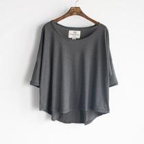 外贸原单 短袖 篇幅衫宽松t恤女 长裙外搭罩衫  宽松大号罩衫 价格:25.00
