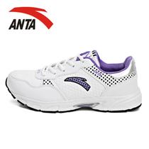 安踏正品 全超纤皮运动跑鞋 anta韩版潮鞋流行女鞋跑步鞋特价包邮 价格:80.00