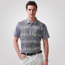 柒牌男装专柜正品t恤 男士上衣 中年商务休闲短袖T恤衫702T5388 价格:189.00