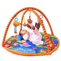 婴儿健身架游戏毯音乐支架宝宝爬行垫拉拉布书游戏垫猴子捞月 价格:247.00