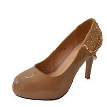6071正品红蜻蜓女鞋2013新款牛皮秋单鞋高跟时尚百搭工作鞋女人味 价格:275.00