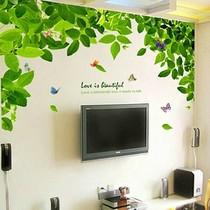 卧室浪漫客厅电视墙背景墙贴纸 家装家饰家居房间装饰可移除墙贴 价格:39.78