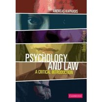 [心理学] Psychology and Law 心理学与法律 第三版 by Kapardis 价格:5.00