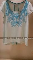 季候风代购2013夏款 女装雪纺衫8381CC457冲浪女孩 价格:328.00