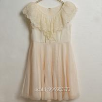 欧时力FivePlus2012新春专柜正品代购荷叶边高腰连衣裙2116084540 价格:88.00