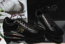 2013新款DG男鞋 真皮正品dg休闲鞋 男 高档反毛皮压字男板鞋包邮 价格:268.00