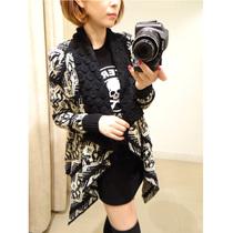 拔萝卜的小老鼠 女装秋装新款韩版时尚奢华大牌复古毛衣开衫D8317 价格:149.00