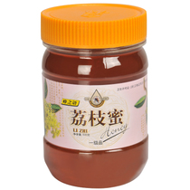 天然优质蜂之语蜂蜜 蜂之语荔枝蜜 500克瓶装 蜂之语官网正品 价格:32.50
