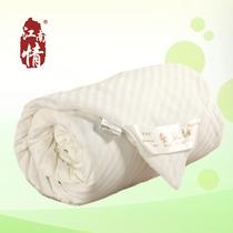 江南情 100桑蚕长丝 全棉贡缎蚕丝被 冬被 正品被子特价 净重6斤 价格:1240.00