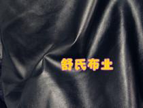 外贸黑色仿真服装皮革布料面料 皮衣夹克皮裤人造革PU服装革 价格:30.00