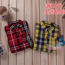 满58包邮 雪椰 格子衬衫 翻领羽绒服 保暖羽绒内胆 3301 价格:184.00