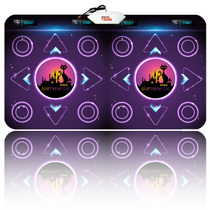 悦步2013新款高清中文电视电脑两用双人11MM加厚跳舞毯机减肥包邮 价格:79.00