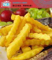 【亿买食品批发】蓝顿旭美曲薯/麦肯曲薯4斤装KFC薯条油炸021 价格:35.00