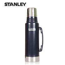 史丹利  斯坦利 户外系列真空保温水壶 保温水瓶暖水瓶 1.0L 深蓝 价格:349.00