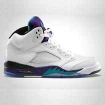 正品乔丹5代女鞋男鞋jordan GS aj5情侣运动篮球鞋6流川枫4黑葡萄 价格:205.00