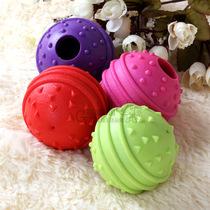 双金冠新品 意潇点刺球形发声漏食玩具 狗狗玩具 发声磨牙洁齿 价格:7.80