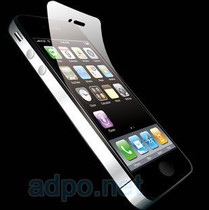 正品adpo 阿迪普 iphone 4 4S 高清屏幕膜 AR材质保护膜 全身膜 价格:86.00
