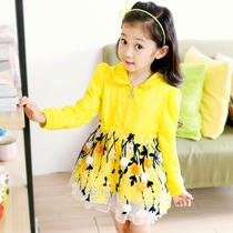 童装 2013女童春秋装新款 公主韩版长袖中小童薄拉链衫女儿童外套 价格:86.19