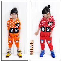 秋款2-3岁童装女宝宝秋装金达莱拉链米奇3-5岁 价格:78.00