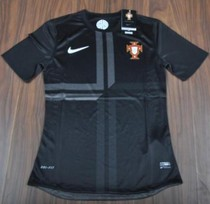 Tight Player version,Top thai,Portugal 2013/14 black jerseys 价格:68.00