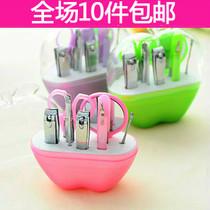 苹果型美甲套装不锈钢指甲套装 美容美妆工具9件套 2182 价格:6.60